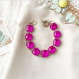 Jewelry - Magenta Link Bracelet